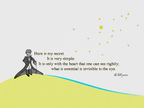 saint exupery invisible