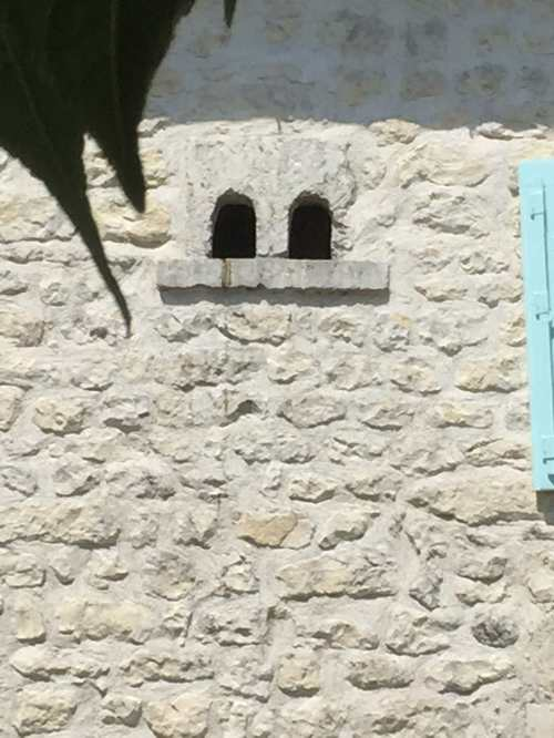 dovecots in wall