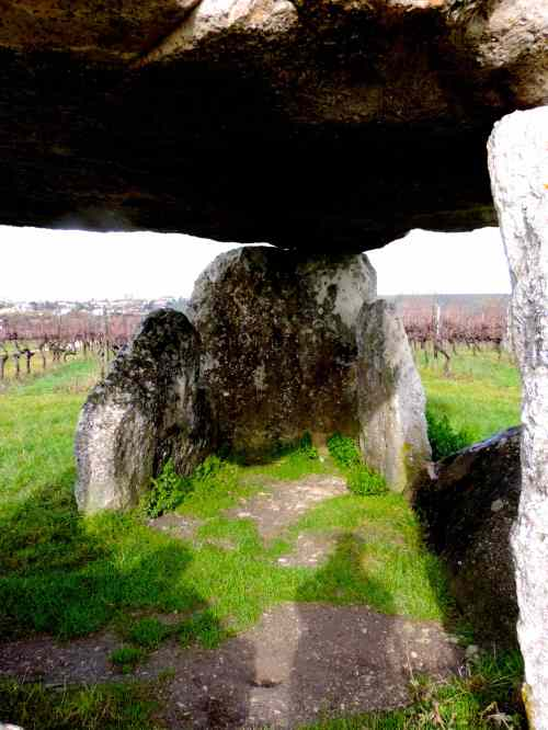 dolmen inside