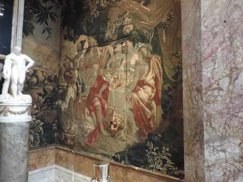 tapestry door