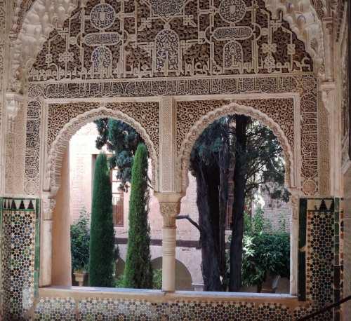 alhambra cloister