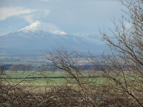snow capped ben ledi
